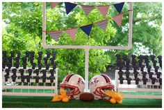 Football Dinner Party » Creating Couture Parties :: Ideas & Inspiration for the Party Planner in all of Us!