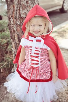 Red Riding Hood Costume Michael can be big bad wolf