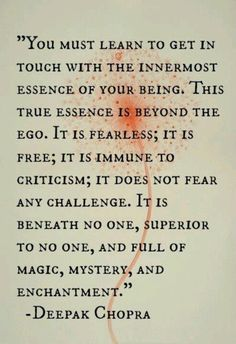 Magic, mystery and enchantment.