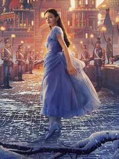 The Nutcracker and the Four Realms 2018 - Clara Costume - Lilac Dress Replica - Christmas Outfit - C Mackenzie Foy, A Little Princess 1995, Nutcracker Movie, Non Disney Princesses, Into The Fire, Lilac Dress, Disney Cosplay, Fairy Dress, Disney And Dreamworks