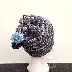 Free pattern of this hat made with softfun demin