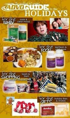 AdvoCare product guide for surviving the holidays. Www.advocare.com/140838440