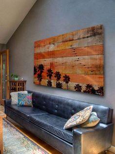 Pallet Wood Wall Decor Craft