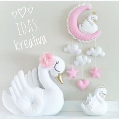 """60 Likes, 3 Comments - Idas Kreativa (@idaskreativa) on Instagram: """"✨Order your own swan pillow now - www.idaskreativa.com ✨ . . . #idaskreativa #svan #kudde…"""""""