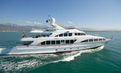 Luxury Benetti 122 Yacht Charter is 37 m long. It has 5 cabins and 10 berths. Benetti 122 also boasts a Turkish bath, a jacuzzi, 2 barbecues, water ski and snorkel equipment, jet ski and much more.