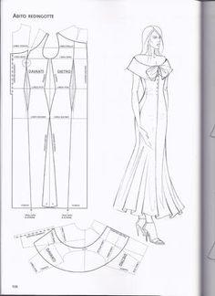 diy pattern making top - PIPicStats Dress Sewing Patterns, Clothing Patterns, Fashion Sewing, Diy Fashion, Sewing Clothes, Diy Clothes, Couture Sewing, Dress Tutorials, Collar Pattern