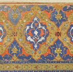 Persian Calligraphy, Islamic Art Calligraphy, Persian Pattern, Iranian Art, Moroccan Tiles, Print Patterns, Pattern Print, Bohemian Rug, Miniatures