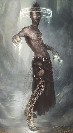 """""""We carry inside us the wonders we seek outside us."""" 🌟Rumi Art By: Alex Chow Fantasy Character Design, Character Design Inspiration, Character Concept, Character Art, Concept Art, Dark Fantasy Art, Fantasy Artwork, Fantasy World, Arte Obscura"""