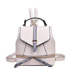 Famous Brand High Quality Aligator Leather Backpacks For Teenage Girls Women s  Backpack 2017 Hot Female School Bag Back Packs 080aadff5611d