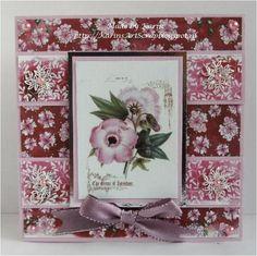 Flowers from Vintage book 2 by karin van eijk - Cards and Paper Crafts at Splitcoaststampers