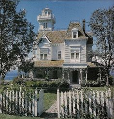 -I think this is the house from the movie Practical Magic filmed up on the Puget Sound, WA. Love this house.