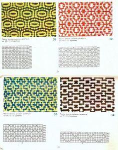 Diy Crafts - View album on Yandex. Knitting Charts, Knitting Stitches, Knitting Patterns, Moss Stitch, Slip Stitch, Crochet Chart, Filet Crochet, Mosaic Knitting, Double Crochet