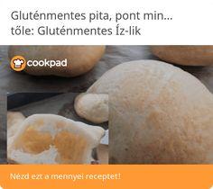 Gluténmentes pita, pont mint a hagyományos (tej és tojásmentes) Tej, Pita, Cheese, Food, Essen, Meals, Yemek, Eten