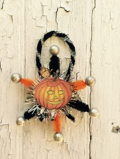 Hey, I found this really awesome Etsy listing at https://www.etsy.com/listing/244478999/old-fashioned-halloween-ornament