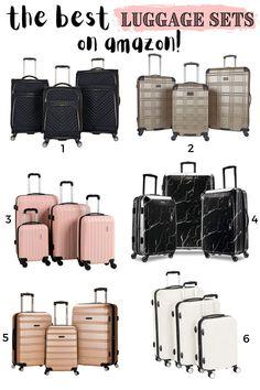 Suitcase Set, Amazon Travel Bags, Cabin Suitcase, Luggage Sets Cute, Best Luggage, Find Amazon, Best Amazon, Shopping, Travel