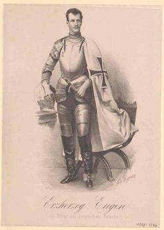 Almanach de Saxe Gotha - HI&RH Archduke Eugen of Austria-Teschen Archduke, The Grandmaster, Ferdinand, Hungary, Austria, Knight, Gotha, Knights, Grand Duke