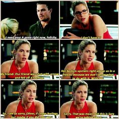 Arrow - Felicity and Oliver #3.2 #Season3 #Olicity
