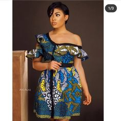 Exclusive Ankara Gown Styles For Lovely Divas African Fashion Ankara, Latest African Fashion Dresses, African Inspired Fashion, African Print Fashion, Nigerian Fashion, African Models, Africa Fashion, African Style, African Women