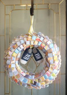 Welcome Baby Boy Wreath. By DecorateTheNest On Etsy, $30.00