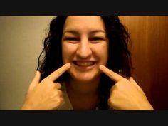 PARÁLISIS DE BELL O FACIAL ánimos a una niña de 11 años - YouTube