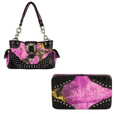 Real Tree Camouflage, Pink Camouflage, Mossy Oak, Purse Wallet, Shoulder Bag, Handbags, Purses, Wallets, Accessories