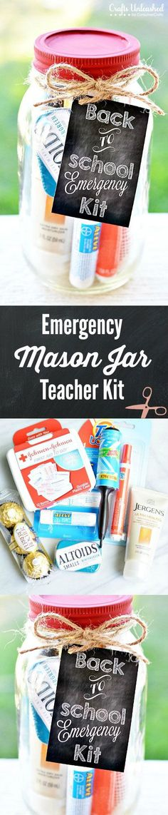 Emergency Mason Jar