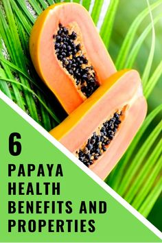 The papaya plant has its origins in Central America but nowadays is obviously cultivated all over the world. A very famous compound found in the papaya fruit is an enzyme called Papain. Healthy Tips, Healthy Snacks, Healthy Eating, Healthy Recipes, Diabetic Recipes, Yummy Recipes, Vegetarian Recipes, Health Diet, Health And Nutrition