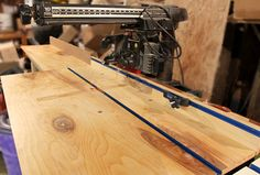 """Radial Arm Tool Tips & Modifications. (Example - Craftsman 10"""" Radial Arm Saw)"""