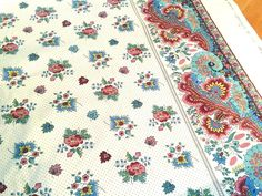 French Country Table Cloth Authentic Provencal Design Gordes - Country french fabric