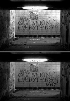 Question everything... Rene Descartes is a great philosopher of metaphysics.