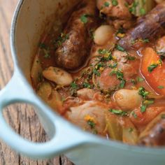 The Hairy Bikers' Special Cassoulet.