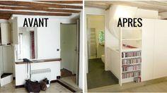 Réorganisation espace avant apres cuisine ouverte logo