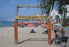 Ecuador is for hiking and jungle exploring – right? Who goes to Ecuador for the beach? That's what Mexico and Aruba and the D. Family Beach Pictures, Beach Photos, Travel Blog, Asia Travel, Salinas Ecuador, Alaska, Goals Tumblr, Equador, Beach Town