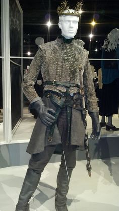"""From """"Game of Thrones"""" worn by Gethin Anthony as Renly Baratheon design by Michele Clapton"""