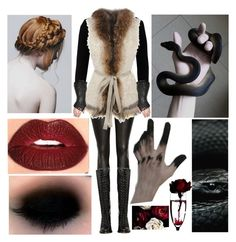 """""""Playing with Serpents"""" by hobbit10 ❤ liked on Polyvore featuring French Connection, Joseph, Le Sentier and Frye"""