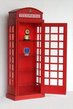 cabine telefônica inglesa | Blog | De Lavie Decor