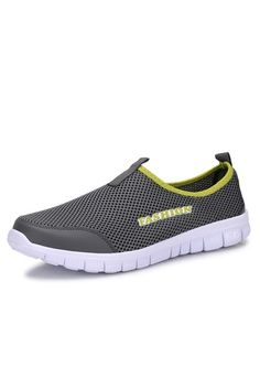 Men's Fashion Solid Breathable Lazy Shoes Male -dark gray | ราคา: ฿645.00 | Brand: Unbranded/Generic | See info: http://www.topsellershoes.com/product/55891/mens-fashion-solid-breathable-lazy-shoes-male-dark-gray