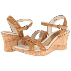 David Tate Bailey Women's Wedge Shoes ($115) ❤ liked on Polyvore