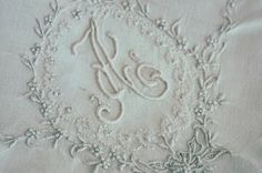 Faith, Grace, and Crafts: Pearls and Lace Thursday With Embroidered White Handkerchiefs