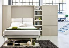 A Modern Murphy Bed Decorating Ideas For Small Homes . Ikea Murphy Bed With Desk Walsall Home And Garden. Vertical Queen Wall Bed With Sofa Tango Resource . Home Design Ideas Murphy Bed With Sofa, Modern Murphy Beds, Murphy Bed Plans, Resource Furniture, Space Saving Beds, Space Saving Furniture, Bedroom Furniture, Furniture Design, Bedroom Decor