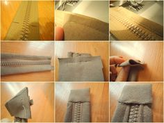 A Jacket + An Idea = A New Bag        As I promised, today I'm showing how I made a bag from a jacket you saw in my previous post.  The b...