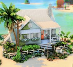 The Sims, Sims Cc, Sims 4 House Building, Sims House Plans, Cute Minecraft Houses, Sims 4 House Design, Sims 4 Build, Sims 4 Houses, Cute House