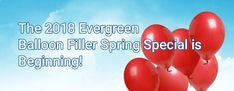 Spring Special Balloon Fillers #specialpricing #SpringSpecial #BalloonFillers  #Balloon #Fillers #Spring