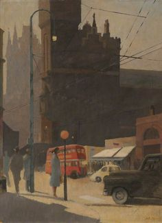 'St Pancras Station' [A. E. Dennis].