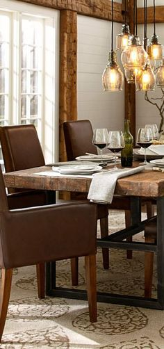 This dining room table will be in my house