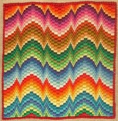 25+ best ideas about Bargello needlepoint