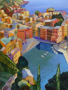 Vernazza  - Cinque Terre, by Paul Jorgensen