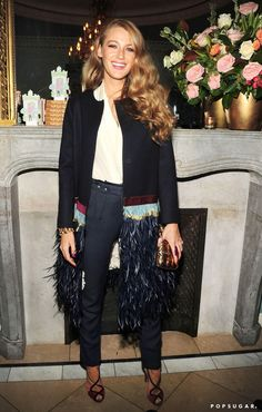 Pin for Later: Blake Lively Steps Out to Celebrate a Very Special Occasion