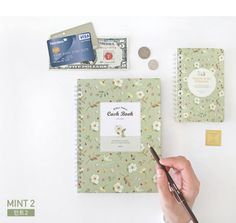 Willow-Pattern-Cash-Book-Spring-Money-Record-Planner-Diary-Account-Organizer