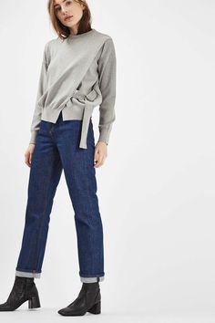 Long Sleeve D-Ring Wrap Sweatshirt - New In This Week - New In - Topshop